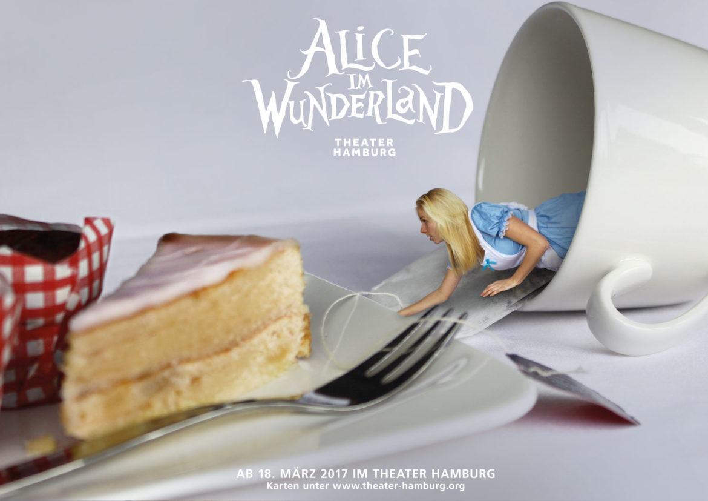 Alice im Wunderland Brand Academy Hamburg Kommunikationsdesign Fotografie Leewis