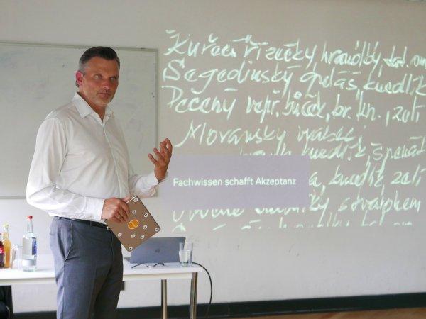 Gastvortrag Heiko Packwitz Lufthansa Industry Solutions Brand Academy